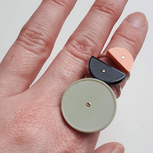 Large Blok Stacking Ring
