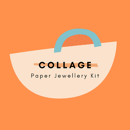 COLLAGE: Paper Jewellery Kit