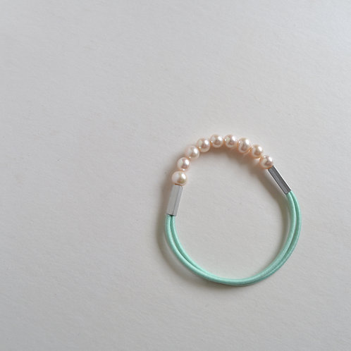 Pearl Bracelet In Mint