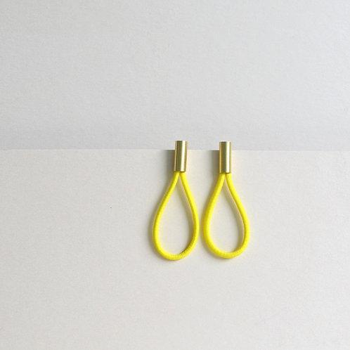 Earrings In Bright Yellow