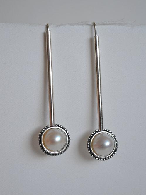 Agatha Tube Earrings