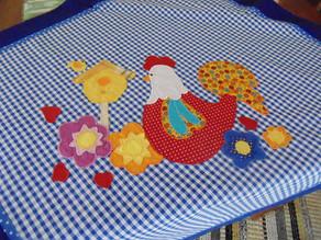 Toalhas de mesa Xadrez Azul