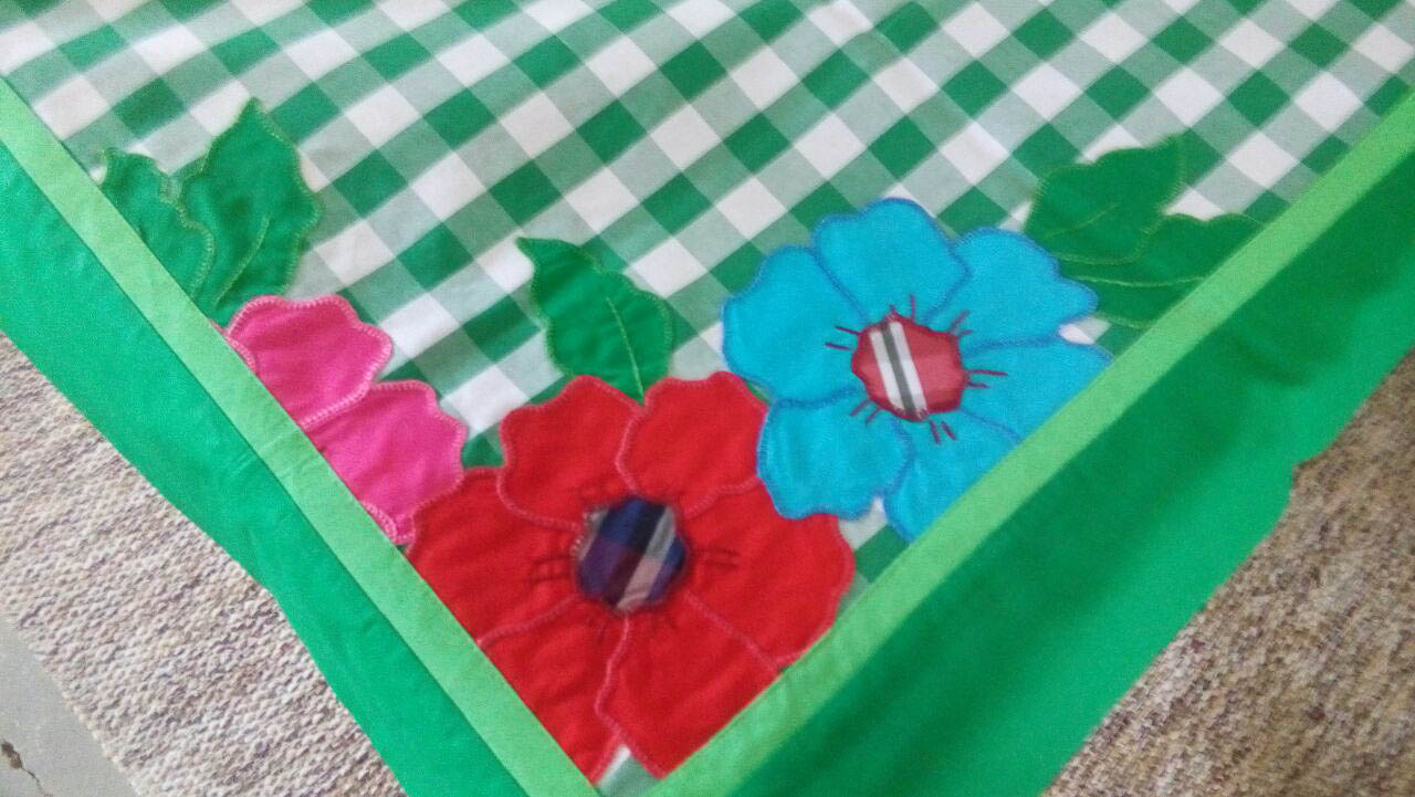 Toalhas de mesa Xadrez Verde