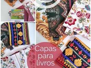 Capas de livro em tecido