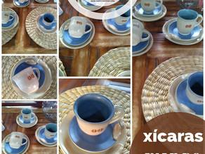 Xícaras de cerâmica