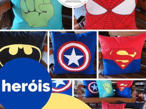 Almofadas de heróis