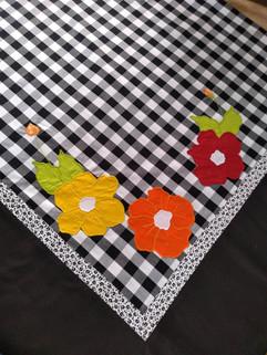 Toalhas de mesa Xadrez Preto