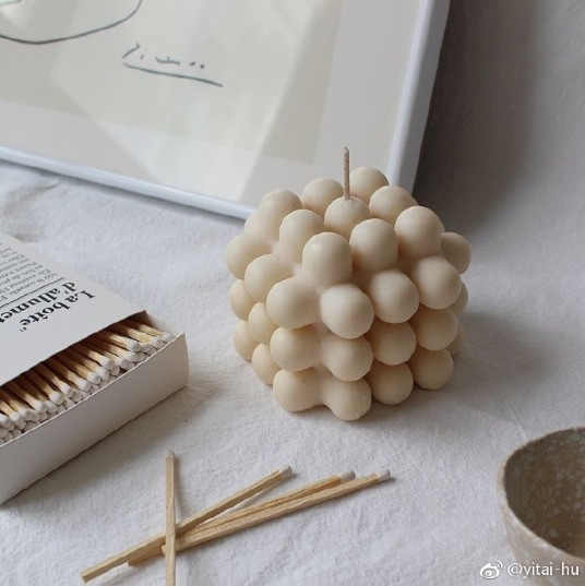 Unique hand-poured designer candles