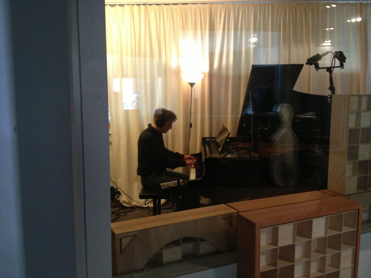 Im Greve-Studio Berlin