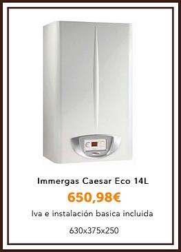 Immergas caesar Eco 14l