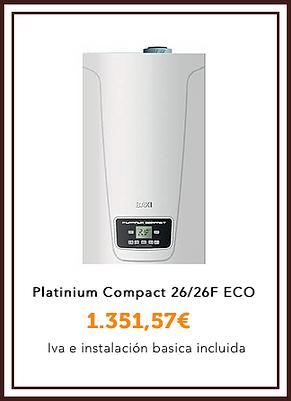 Baxiroca Platinium compact 26:26F Eco.pn