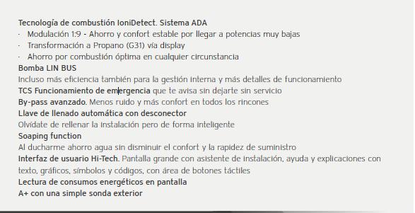 Informacion vaillant ecotec plus CS:1-5C