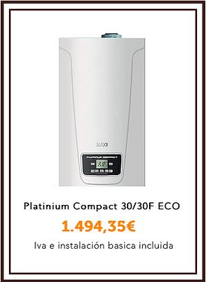 Baxiroca Platinium compact 30:30F eco.pn