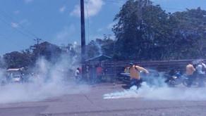 Sindicatos aseguran que acción policial en Moín fue injustificada.