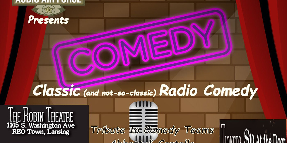 CANCELED* Audio Air Force presents: Comedy Night!