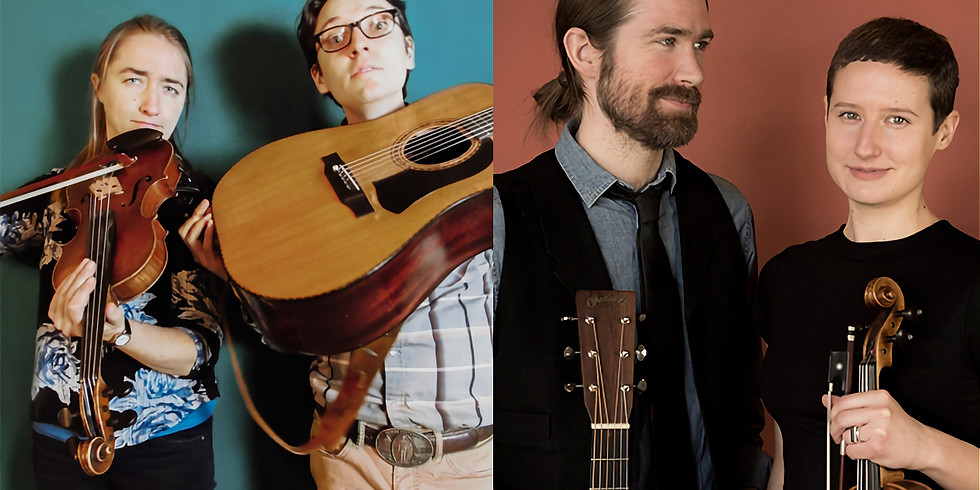 The Matchsellers & Red Tail Ring at The Robin: The Ten Pound Fiddle Concert Series