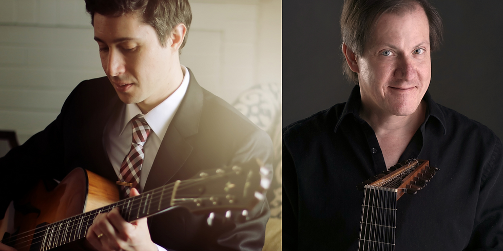Randy Napoleon and David Rogers: Jazz and Classical Guitarist Masters