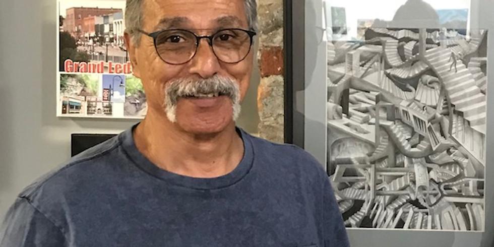 Martín Vargas Art Reception