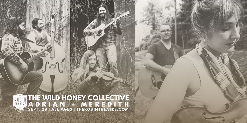 Adrian+Meredith / The Wild Honey Collective at The Robin