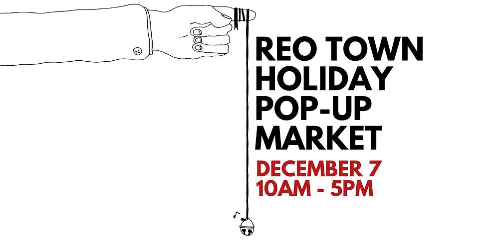 REO Holiday Pop Up Market