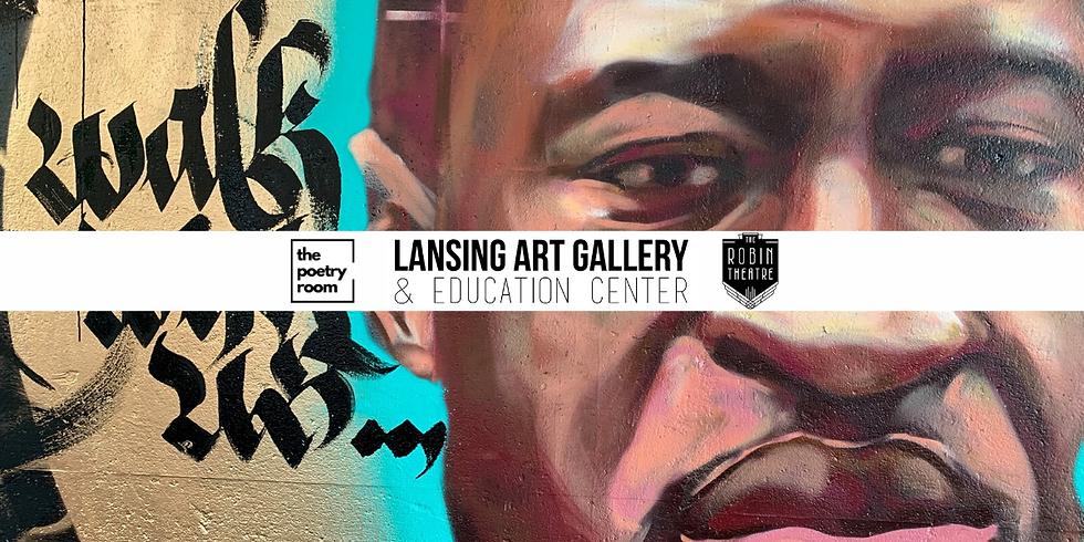 "The Poetry Room X Lansing Art Gallery: ""City is Mine"""