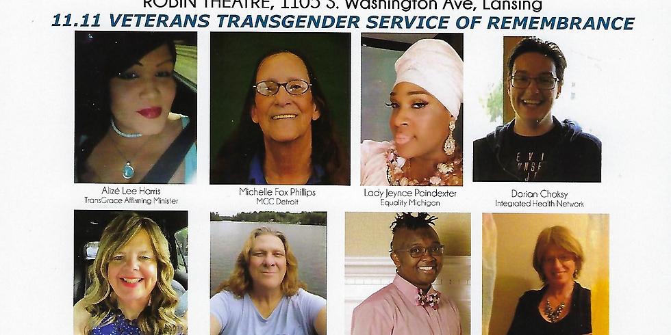 Transgender Veterans Day of Remembrance