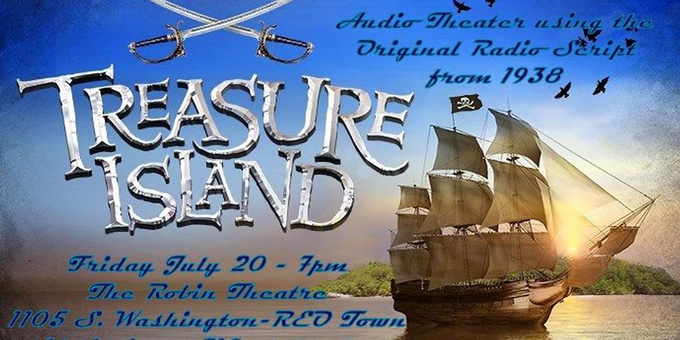 Audio Air Force presents: Treasure Island (live radio theatre)