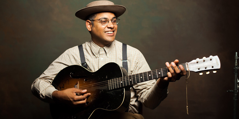 """Dom Flemons """"The American Songster"""" (co-founder of Grammy-winning Carolina Chocolate Drops)"""