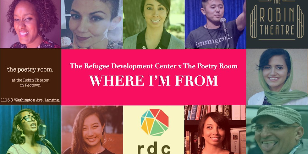 RDCxPoetry Room: Where I'm From