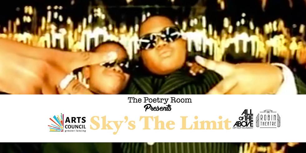 ThePoetryRoom X AOTA Presents Sky's The Limit