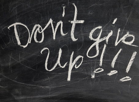 Life's Lesson: When You Feel like You Want To Quit Doing Right, Don't Despair.
