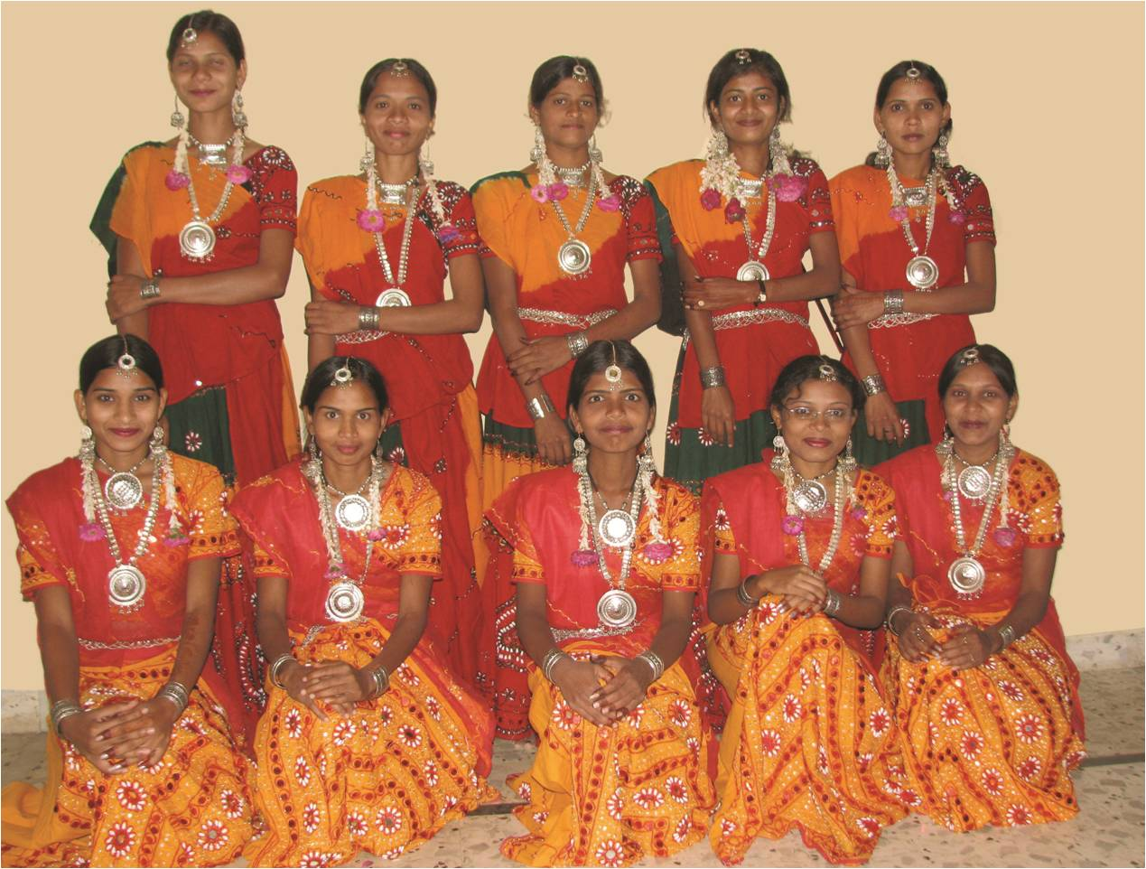 Girls in Traditional dress