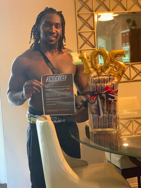 Snickers Send Get-Well Gift to DeMarcus Lawrence Amidst Shoulder Injury Recovery
