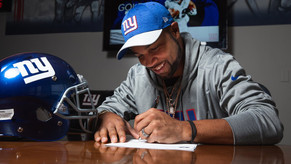 Giants reportedly sign Golden Tate to four-year, $37.5 million deal