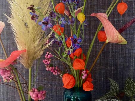Echte bloemen of zijden bloemen