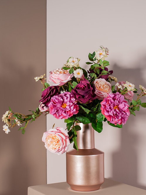 gemengd rozen boeket