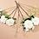 Thumbnail: Dahlia boeket wit