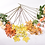 Thumbnail: Herfst boeket zalm oranje
