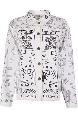 AZTEC EMBROIDERED JACKET