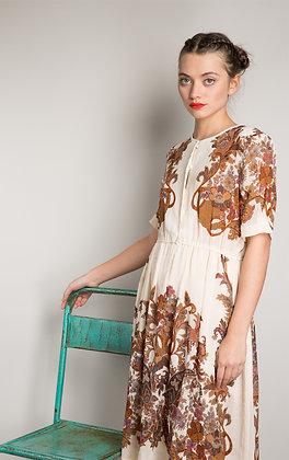 RUST & BROWN DRESS