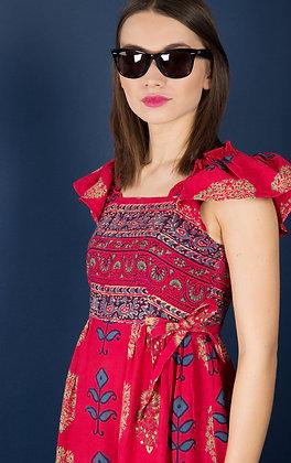 BOHO-INDIAN MAXI DRESS