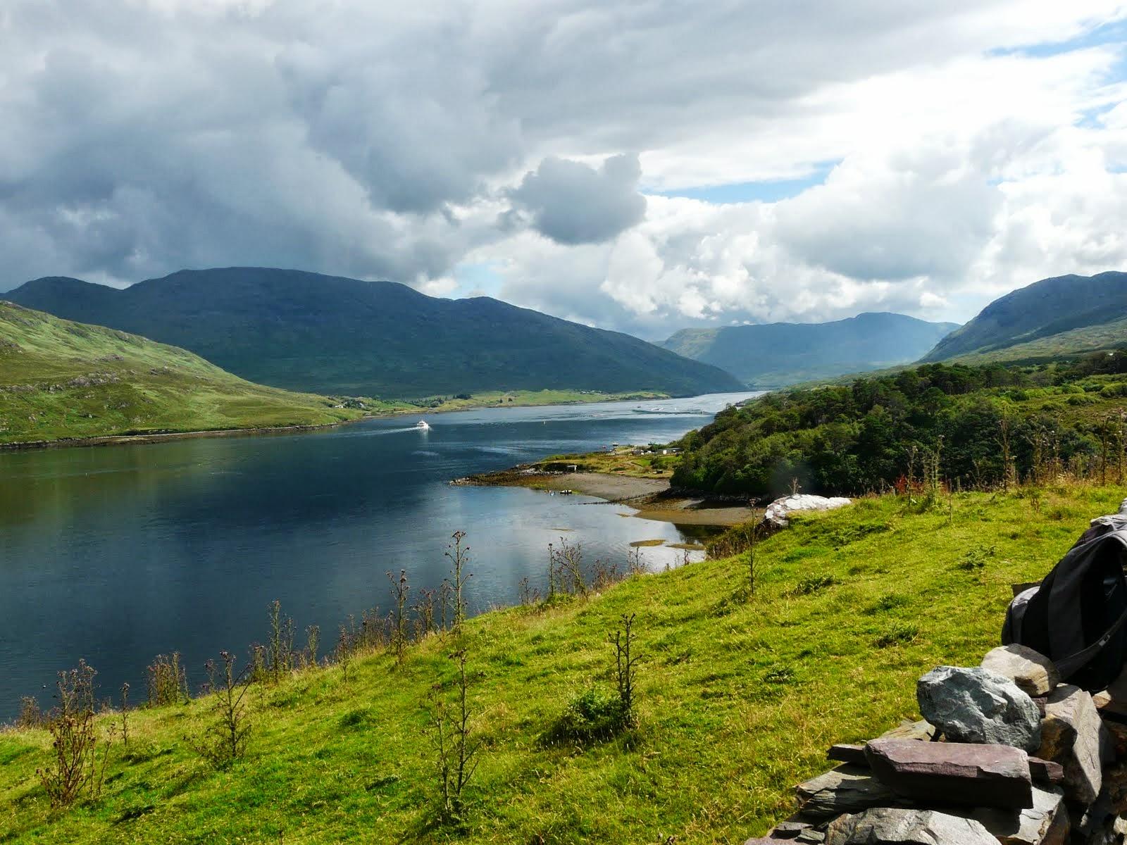 Fjord de Killary Irlande