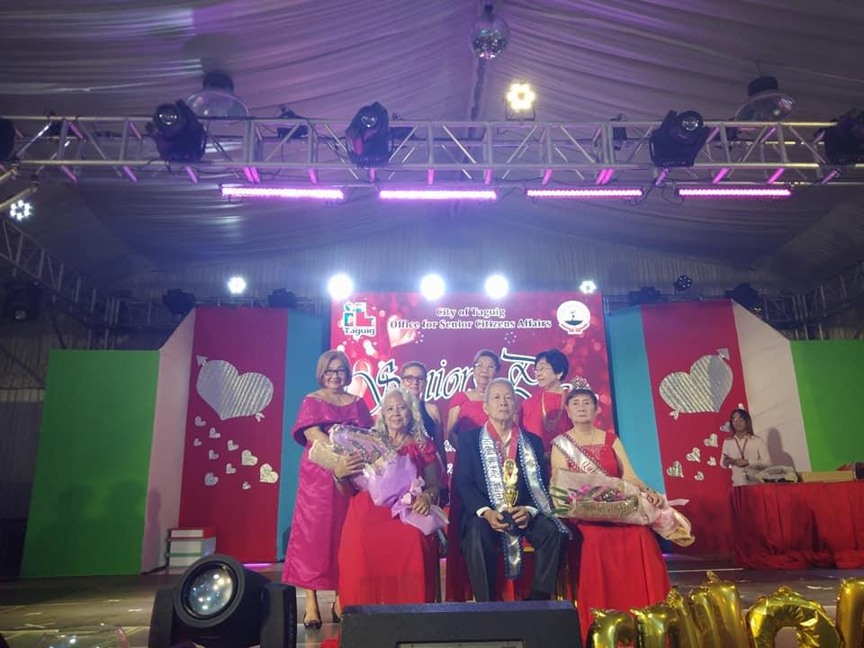 The Winners of Seniors Prom