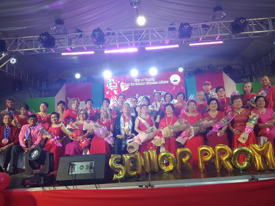 All Participants of Seniors' Prom