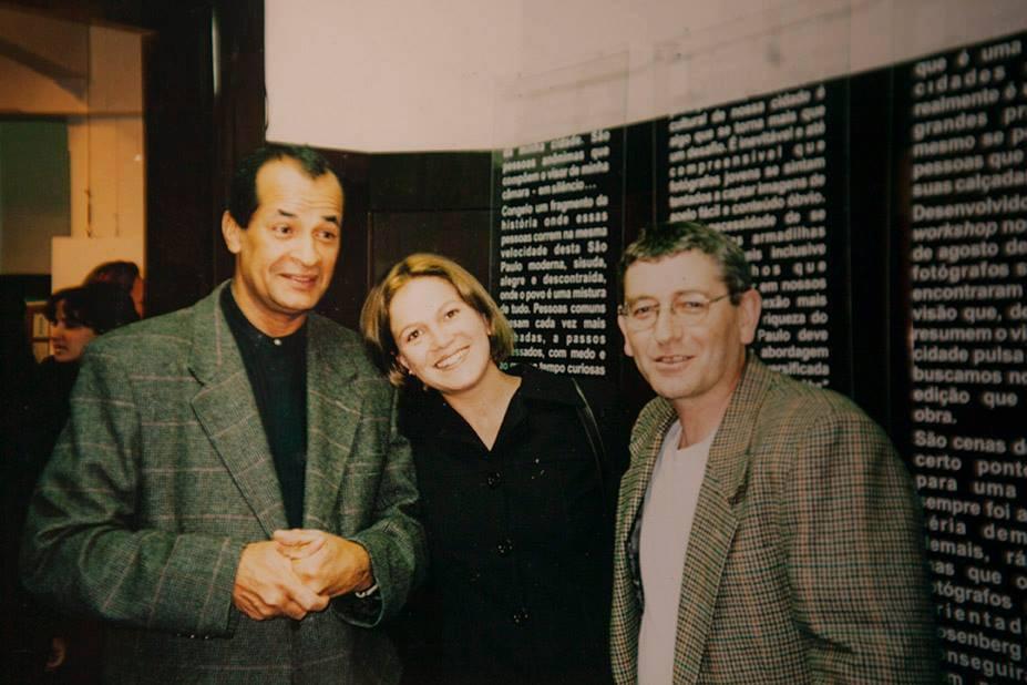 Valéria Gonçalvez, Jorge Araújo e Emidio Luisi
