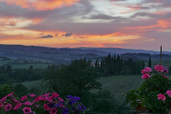 Vista do Hotel - Luzes da Toscana Emidio Luisi