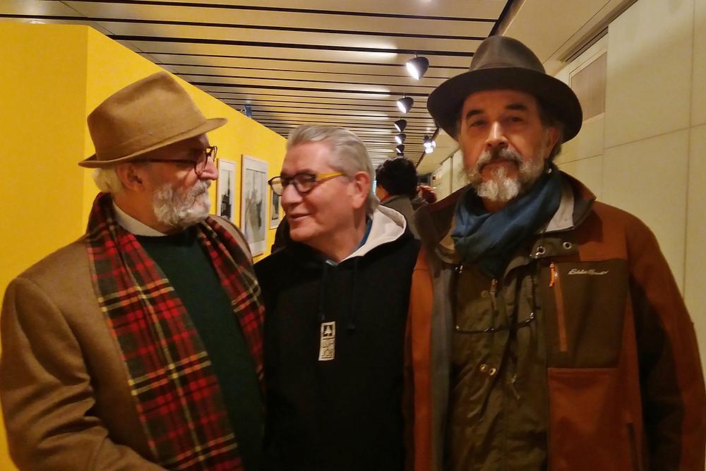 Rubens Fernandes Junior,Emidio Luisi e Valdir Cruz