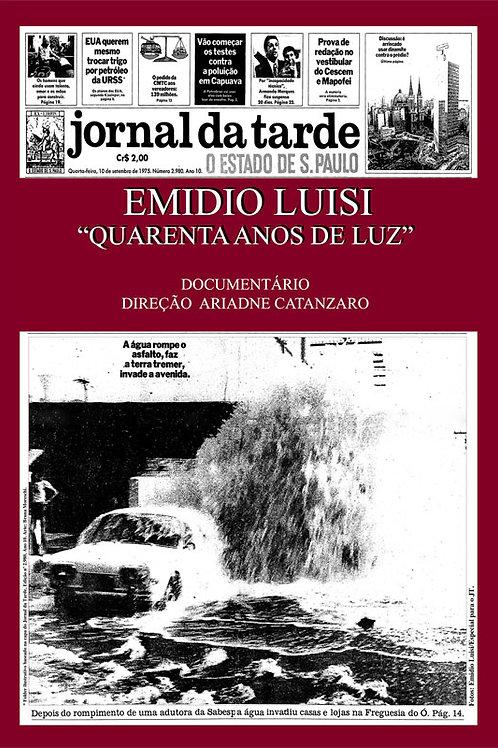 """DVD """"Emidio Luisi""""40 Anos de Luz"""