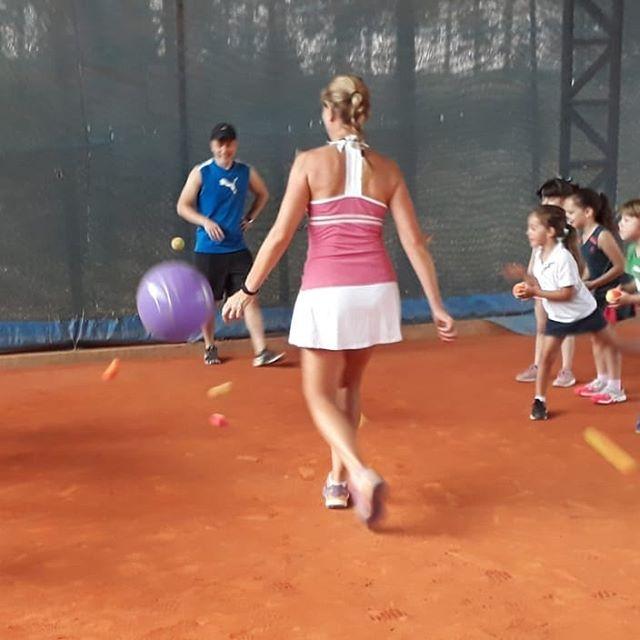 Escolinha de tênis Cia da Bola #vempraci