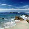 La beauté cachée mer rocher